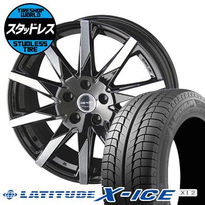 215/70R16 100T MICHELIN ミシュラン LATITUDE X-ICE XI2 ラティチュード エックスアイス XI2 SMACK SFIDA スマック スフィーダ スタッドレスタイヤホイール4本セット