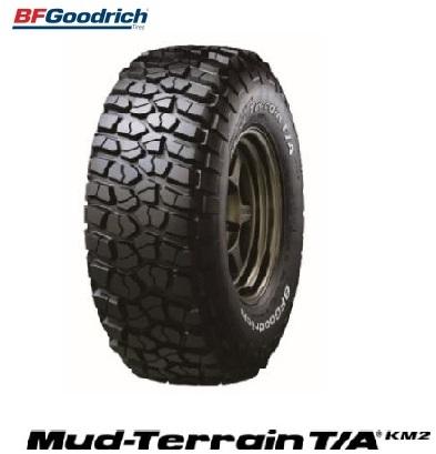 【取付対象】BFGoodrich グットリッチ Mud-Terrain T/A KM LT255/75R17 BFグッドリッチマッドテレーン MT ブラックレター(タイヤ単品1本価格)