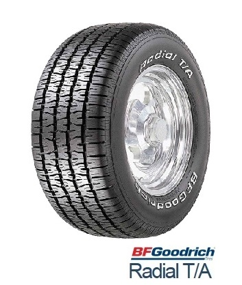【取付対象】BFGoodrich グットリッチ RADIAL T/A 255/60R15 102S BFグッドリッチ ラジアルティーエー ホワイトレター(タイヤ単品1本価格)