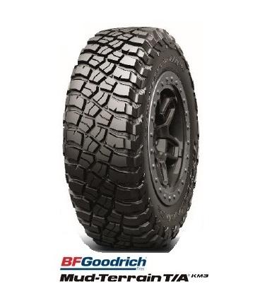BFGoodrich Mud-Terrain T/A KM3 LT225/75R16 115/112Q BFグッドリッチマッドテレーン MT【ブラックレター】(タイヤ単品1本価格)