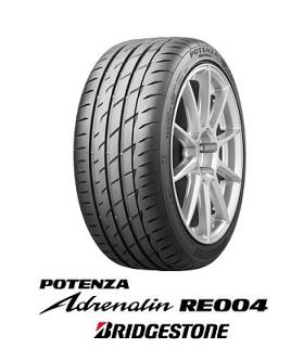 【取付対象】BRIDGESTONE POTENZA Adrenalin RE004 255/45R18 103W XL ブリヂストン ポテンザ アドレナリン(タイヤ単品1本価格)