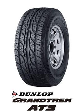 【取付対象】DUNLOP ダンロップ GRANDTREK AT3 30X9.50R15 104S OWL(タイヤ単品1本価格)