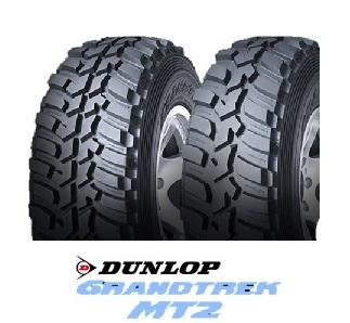 【取付対象】DUNLOP ダンロップ GRANDTREK MT2 LT265/75R16 112Q OWL(タイヤ単品1本価格)