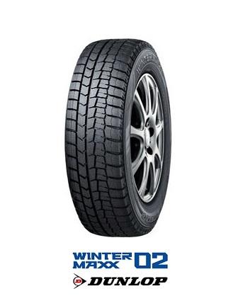 ダンロップ スタッドレスタイヤ WINTER MAXX WM02 245/40R18 93Q ウインターマックス WM02 DUNLOP(タイヤ単品1本価格)