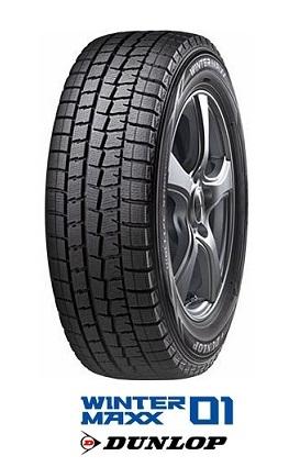 ダンロップ スタッドレスタイヤ WINTER MAXX WM01 225/45R18 91Q  ウインターマックス WM01 DUNLOP(タイヤ単品1本価格)