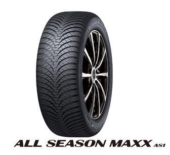 【取付対象】ダンロップ オールシーズンAS1 225/65R17 106H XL DUNLOP ALL SEASON MAXX AS1 (タイヤ単品1本価格)