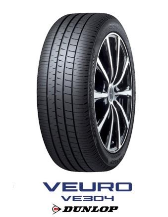 DUNLOP VEURO VE304 ダンロップ ビューロ 225/55R19 99V(タイヤ単品1本価格)