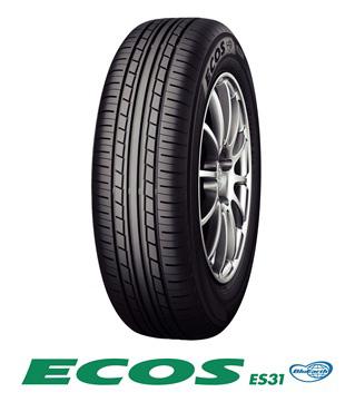 【取付対象】YOKOHAMA ECOS ES31 ヨコハマ エコス 215/55R17 94V(タイヤ単品1本価格)