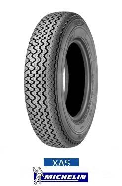 【要在庫確認】MICHELIN XAS 165HR15 86H T/T 【165-15】 ミシュラン クラシックタイヤ(タイヤ単品1本価格)