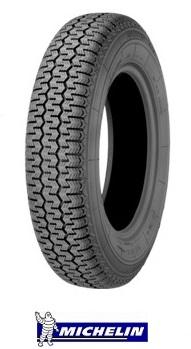 【取付対象】【要在庫確認】MICHELIN XZX 145SR15 78S T/L 【145-15】 ミシュラン クラシックタイヤ(タイヤ単品1本価格)
