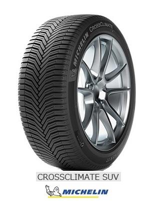 【取付対象】MICHELIN 225/55R18 98V CROSSCLIMATE SUV ミシュラン クロスクライメート エスユーブイ(タイヤ単品1本価格)