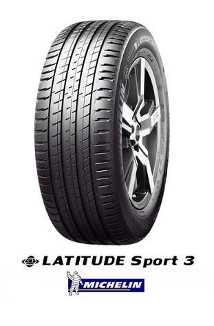 ミシュラン ラティチュード LATITUDE Sport3 235/55R19 105V XL VOL MICHELIN(タイヤ単品1本価格)