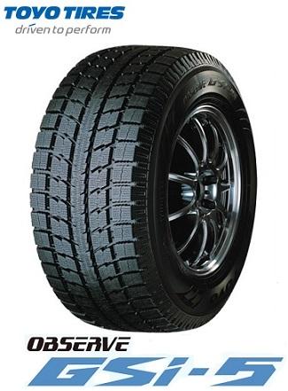 【取付対象】トーヨー スタッドレスタイヤ TOYO OBSERVE GSi-5 235/60R16 100Q オブザーブ(タイヤ単品1本価格)