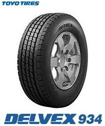 【取付対象】トーヨー スタッドレスタイヤ TOYO DELVEX 934 195/80R15 107/105L デルベックス934 キャラバン ハイエース(タイヤ単品1本価格)