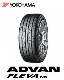 【取付対象】ヨコハマ アドバン ADVAN FLEVA V701 165/55R15 75V フレバ(タイヤ単品1本価格)