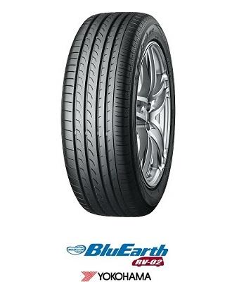 【取付対象】YOKOHAMA BluEarth RV-02 225/65R17 106V XL ヨコハマ ブルーアース RV02(タイヤ単品1本価格)