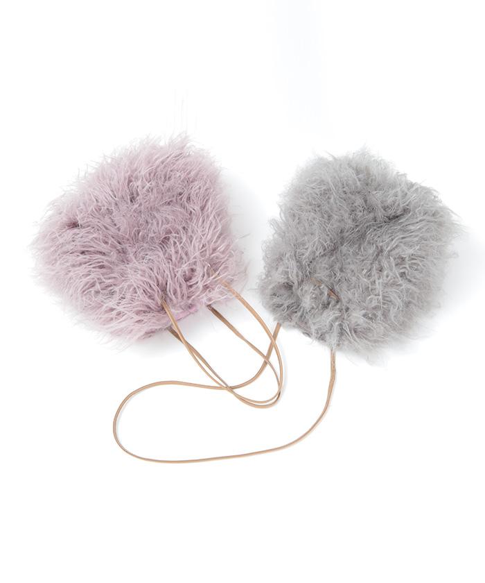 フワフワ可愛いファーバッグ、秋冬の外出におしゃれなものは?
