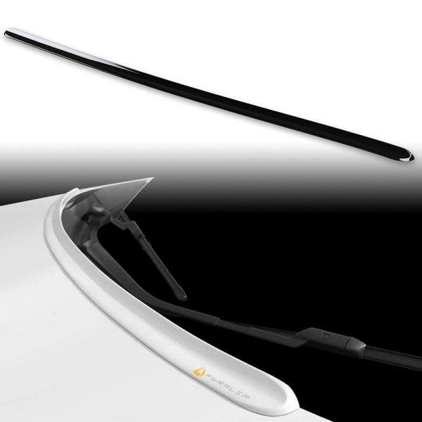 [FYRALIP] Y2 虫よけ ボンネットスポイラー 46G 純正色塗装済 マツダ CX-8 KG5P/KG2P型 モデル用 外装 エアロ パーツ 両面テープ取付