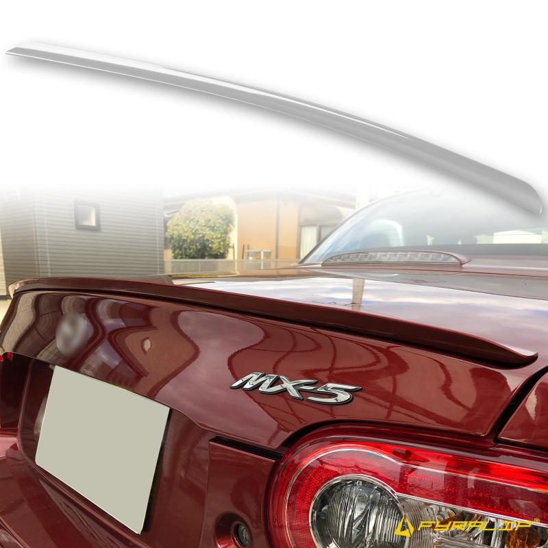 品質に拘り 抜群のコストパフォーマンスを持つトランクスポイラーです FYRALIP トランクスポイラー 休み 純正色塗装済 贈答品 マツダ用 MX-5 ロードスター 両面テープ取付 モデル用 NC パーツ 外装 エアロ 3代目