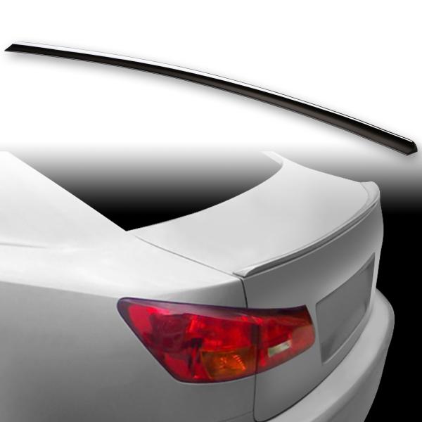 [FYRALIP] トランクスポイラー 純正色塗装済 レクサス IS XE20 2代目 前期 セダン モデル用 外装 エアロ パーツ 両面テープ取付