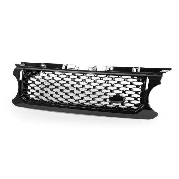 ランドローバーディスカバリー4 L319用 2009-2013 ブラック フロントバンパーグリル オートバイオグラフィースタイル【___OCS】