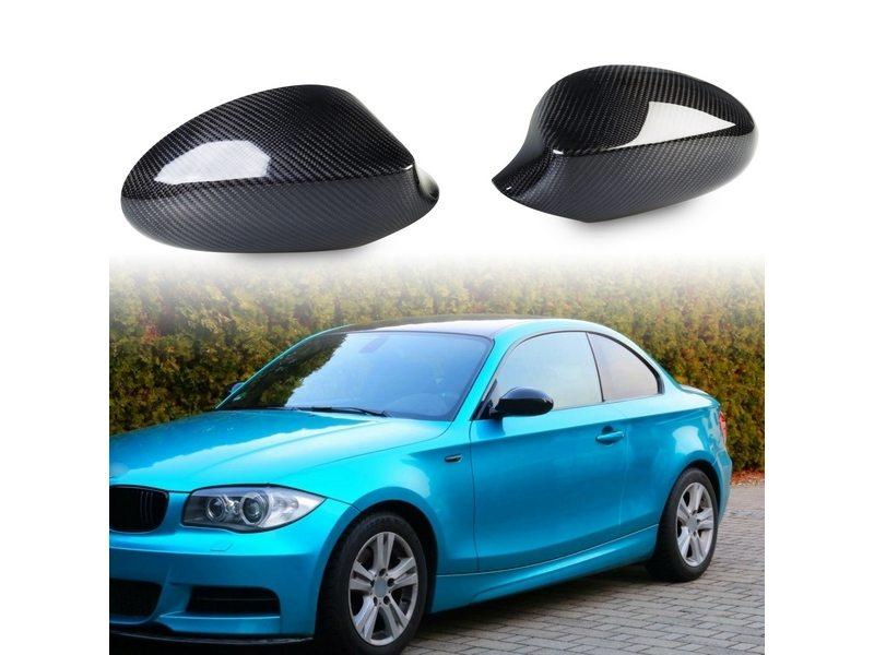 BMW E87/E81/E82/E88 2005-2008 カーボンドアミラーカバー/1シリーズ/外装/サイドミラーカバー【___OCS】