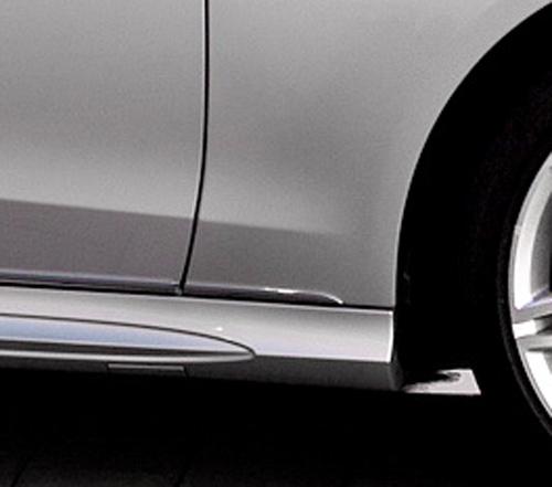 メルセデス ベンツ 4代目 Eクラス W212 後期 クロームメッキ ドアサイドモール ドアトリム ドアアンダーモール 6PCSセット【___OCS】