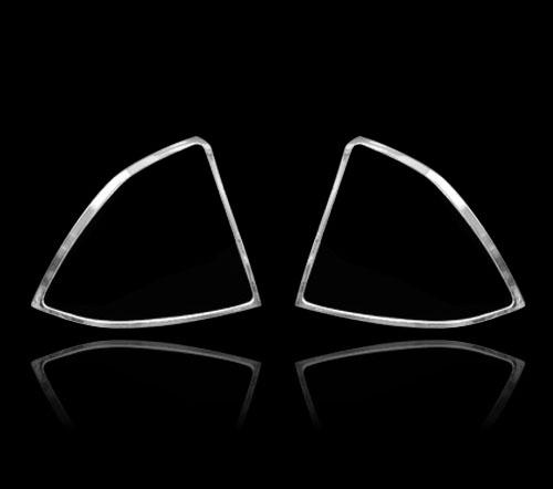 フォード フォーカス 2代目 前期 2005-2008用 クロームメッキ テールランプリム リアランプリム テールライト トリム ベゼルカバー【___OCS】