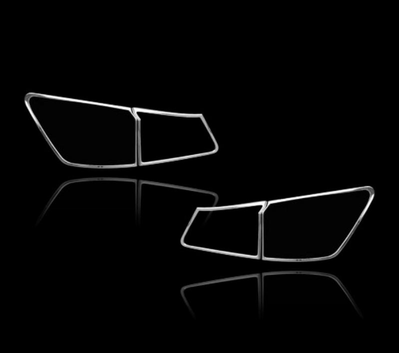 レクサス IS250 XE20 2代目 セダン 2006-2008 前期用 クロームメッキ テールランプリム リアランプリム テールライト トリム ベゼルカバー【___OCS】