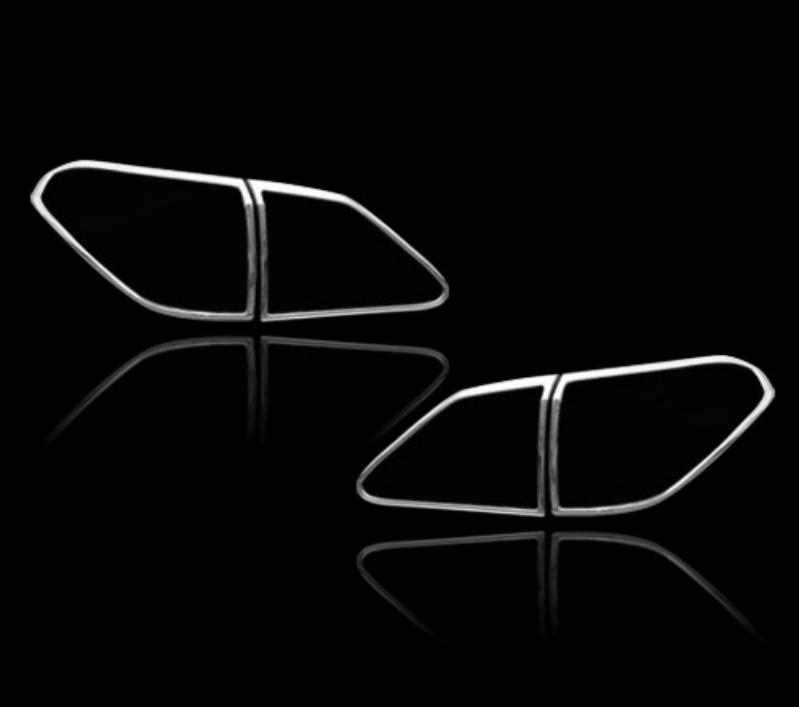レクサス RX350 AL10 AL10 AL10 3代目 2009-2012 前期用 クロームメッキ テールランプリム リアランプリム テールライト トリム ベゼルカバー【___OCS】 1c5