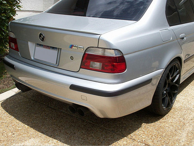 Titosoy Rear Lip Bmw E36 E36 M3 E39 E39 M5 Sedan Genuine Color