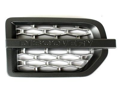 Land Rover ディスカバリー3 LR3 フェンダーダクト サイドグリル 右側/グレー+シルバー 送料無料【___OCS】
