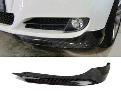 BMW E90 E91 LCIリアルカーボン フロント スプリッター 送料無料【___OCS】
