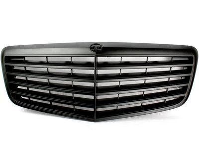 メルセデスベンツ W211 Eクラス 後期 マットブラック フロント グリル【___OCS】