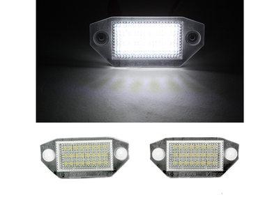 Ford Mondeo モンデオ Mk3 18 LED ナンバー灯/ライセンスランプ/キャンセラー付【R.Mail】:TitoSoy