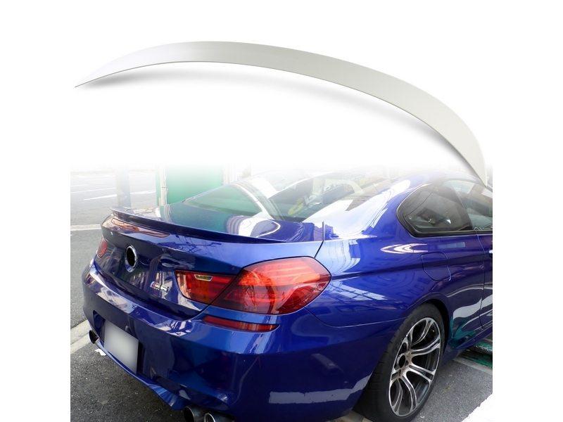 未塗装 BMW 6シリーズ F06 グランクーペ F13 クーペ ABS製 トランク スポイラー M6タイプ【___OCS】