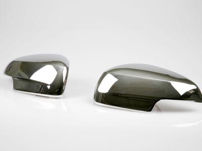 Jaguar X-type XF クロームメッキドアミラーカバー/左ハンドル/サイドミラーカバー 送料無料【___OCS】