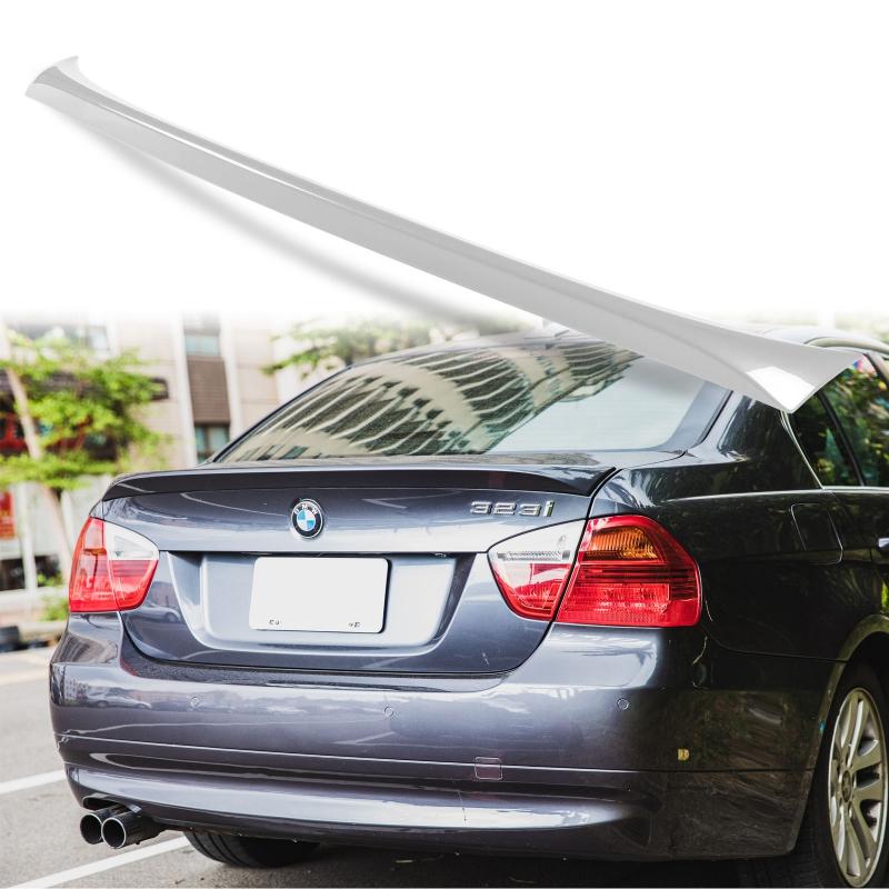 純正色塗装 ABS製 トランクスポイラー BMW 3シリーズ E90用 セダン 外装 エアロ パーツ リアスポイラー 両面テープ取付【___OCS】