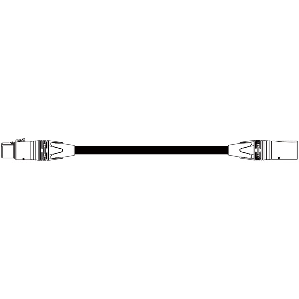 BELDEN DMX-9842-5 DMXケーブル(XLR5ピンメス-XLR5ピンオス) 20m