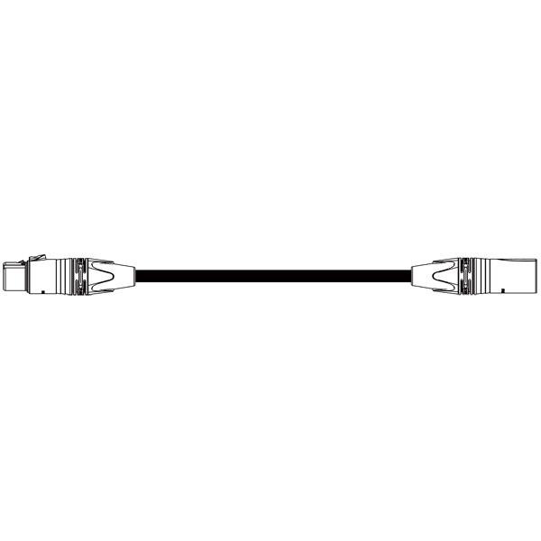 BELDEN EC-1776-B XLRケーブル (XLR3ピンメス-XLR3ピンオス NC3FXX-B - NC3MXX-B) 30m