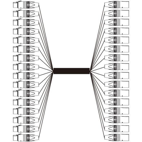 BELDEN 16EC-1916A-B 16chアナログオーディオマルチケーブル 50m