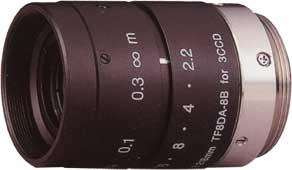 CCTVレンズ フジノン(FUJINON)3CCD用Cマウント・レンズ C-mount レンズ TF8DA-8B