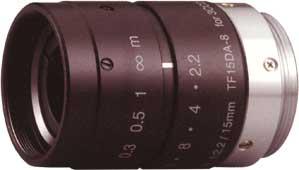 CCTVレンズ フジノン(FUJINON)3CCD用Cマウント・レンズ C-mount レンズ TF15DA-8