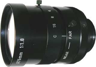 SPACECOM(スペース)交換レンズCCTV交換レンズCマウント・レンズ G75-1.8