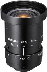 CCTVレンズ RICOH(リコー) FL-CC0614A-2M 焦点距離 6mm 2/3