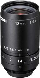 CCTVレンズ RICOH(リコー) FL-CC1214A-2M 焦点距離 12mm 2/3