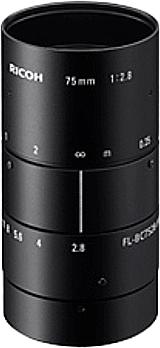 CCTVレンズ RICOH(リコー) FL-BC7528-9M 9メガ対応 75mm 1