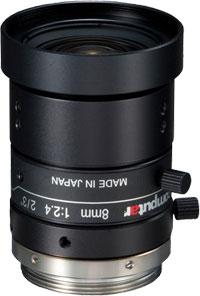 CCTVレンズ CBC(computar) M0824-MPW2 5メガピクセル 8mm F2.4-16C 絞り手動 0.05m 2/3