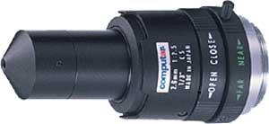 CCTVレンズ CBC(computar) T2625CS-P ピンホール 2.6mm F2.5-32C 絞り 手動 1/3