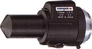 CCTVレンズ CBC TG2625AFCS-P ピンホール 2.6mm F2.5-360C 絞り Video駆動 1/3